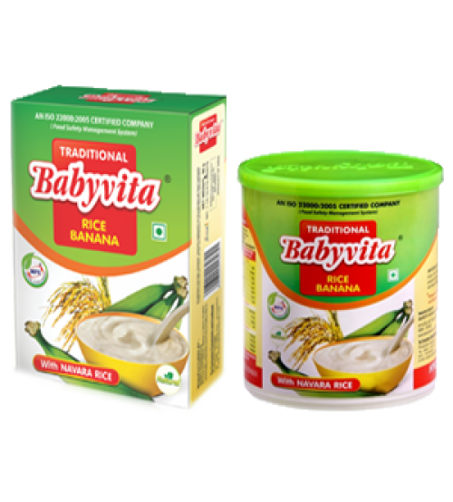 Babyvita Traditional Rice Banana