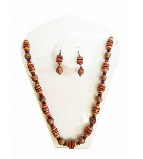 Kerala Bamboo Jewellery NeckLace Ear