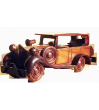 Kerala Handicraft Decorative Wooden Vintage Car