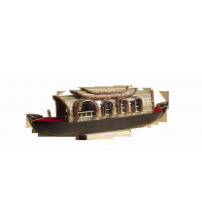 Kerala Traditional Wooden Decorative HouseBoat
