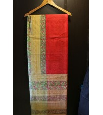 Designer Cotta Saree